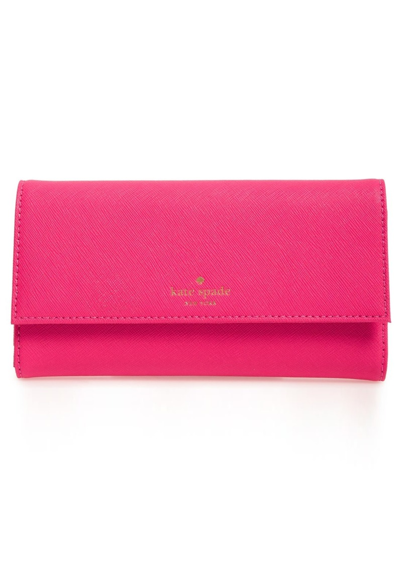 super popular f6dee 9c69b new york leather iPhone 7 wallet