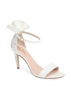 kate spade new york iris ruffle sandal (Women)