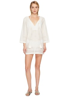Kate Spade Isla Vista #74 Embroidered Tunic Cover-Up