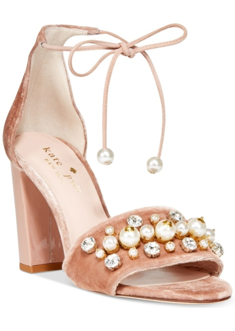 506f24ace31 Kate Spade kate spade new york Iverna Pearl-Studded Open-Toe Pumps ...