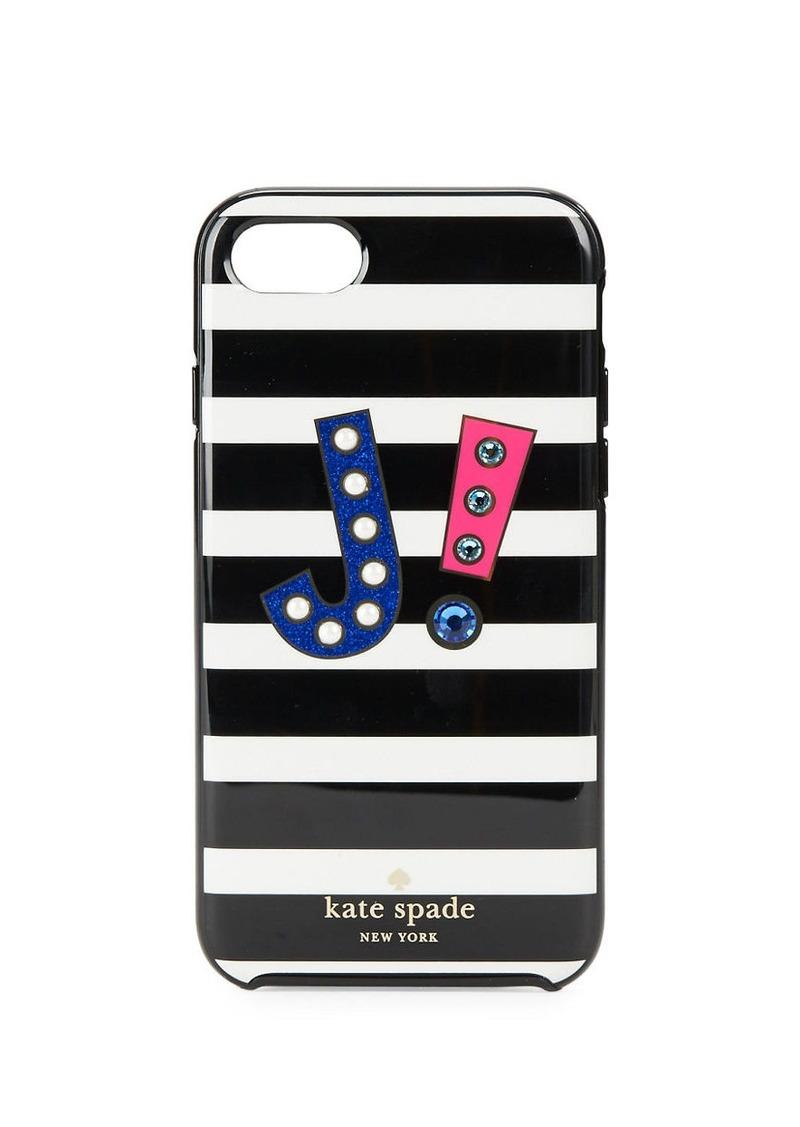 KATE SPADE NEW YORK J Initial iPhone 7 Case
