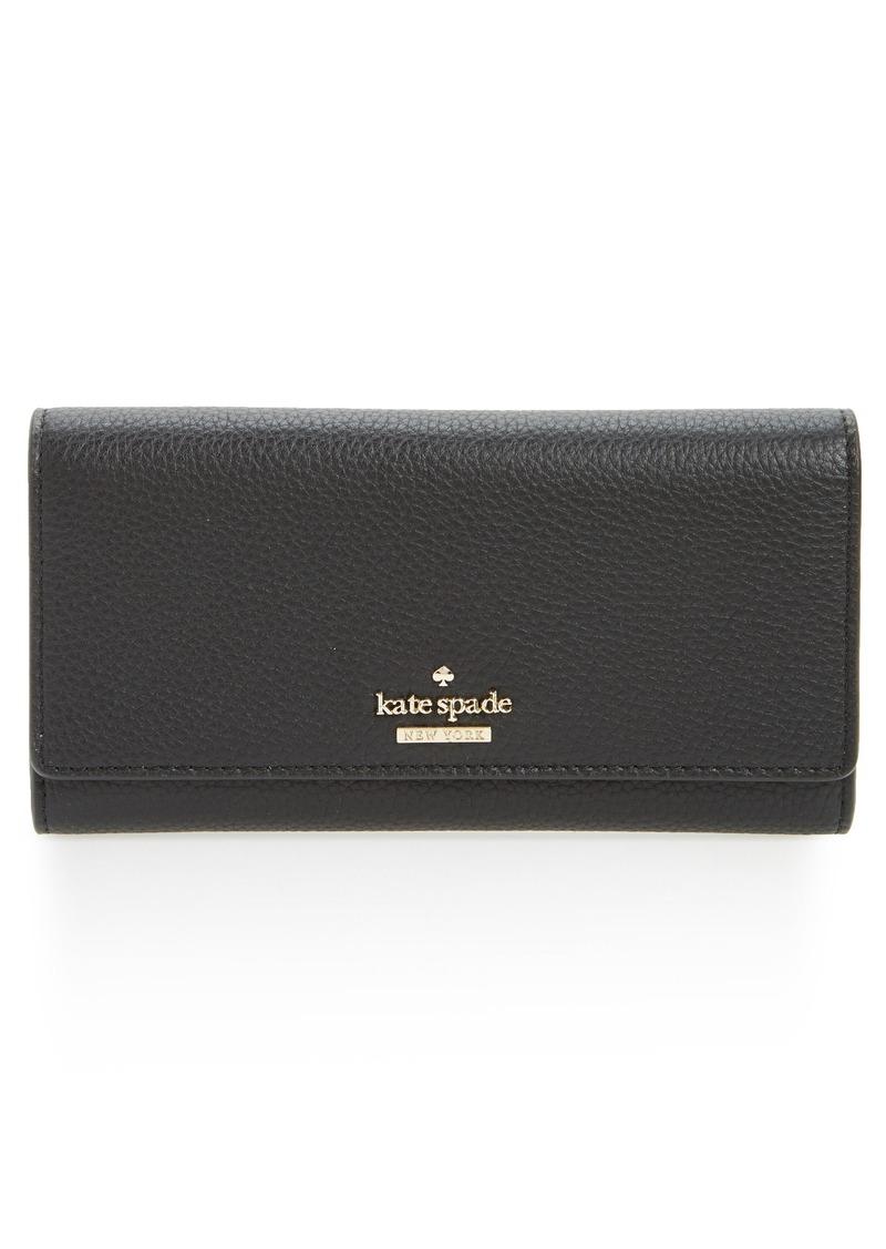 85de4913a1de Kate Spade New York Jackson Street Celina Leather. Lyst kate spade new york  wallet ...