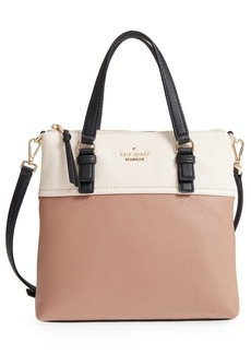 kate spade new york jackson street - hayley leather satchel