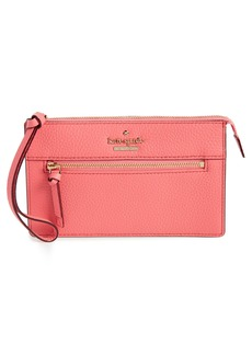 kate spade new york jackson street - lancey leather wristlet