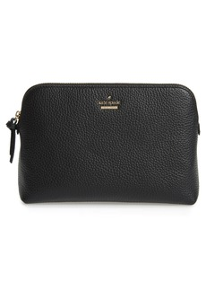 kate spade new york jackson street - small briley leather cosmetics bag