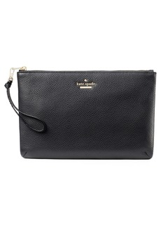 kate spade new york jackson street – finley quilted leather clutch