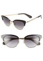 kate spade new york jahnams 52mm cat eye sunglasses