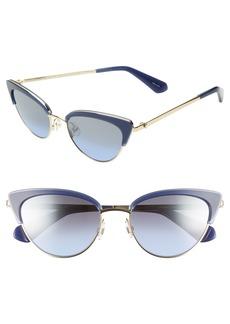 kate spade new york jahnams 52mm cat eye sunglasses
