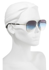 kate spade new york jakaylas 62mm aviator sunglasses
