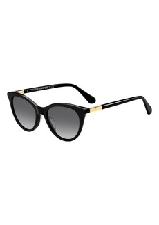 kate spade new york janalynn cat-eye sunglasses - polarized