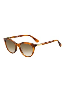 kate spade new york janalynn cat-eye sunglasses