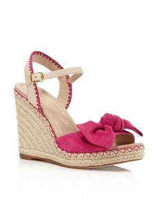 kate spade new york Jane Espadrille Platform Wedge Sandals