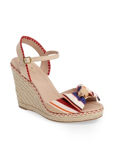 kate spade new york jane espadrille wedge sandal (Women)