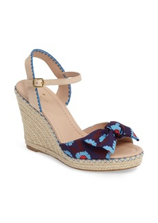 kate spade new york jane espadrille wedge sandal (Women)
