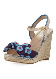 kate spade new york jane floral wedge espadrille sandal
