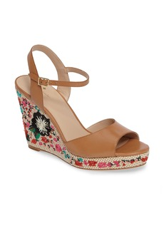 kate spade new york jardin wedge sandal (Women)