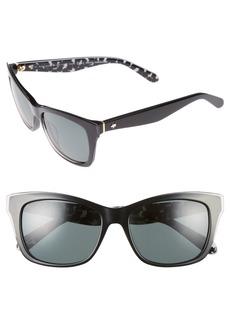 kate spade new york jenae 53mm polarized sunglasses