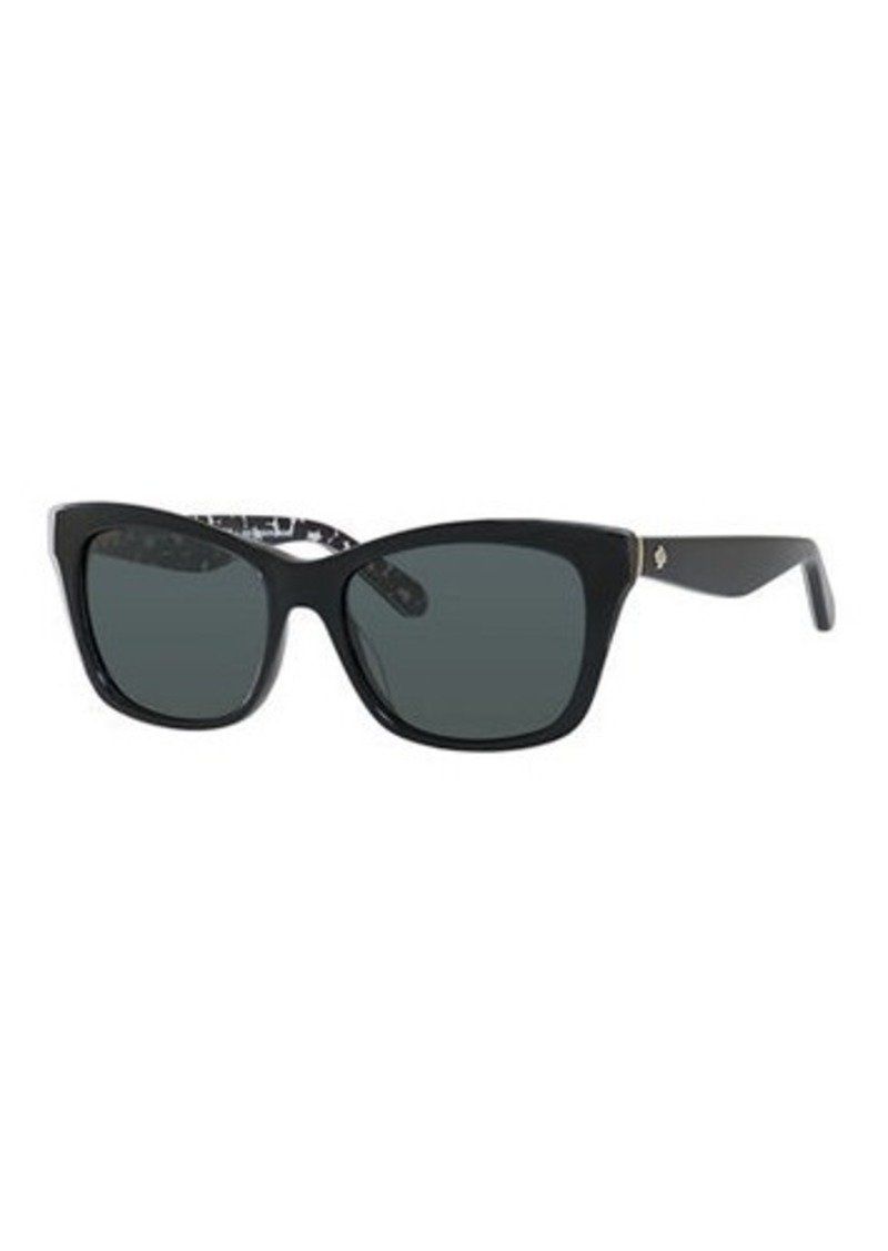 Kate Spade jenae plastic rectangle sunglasses