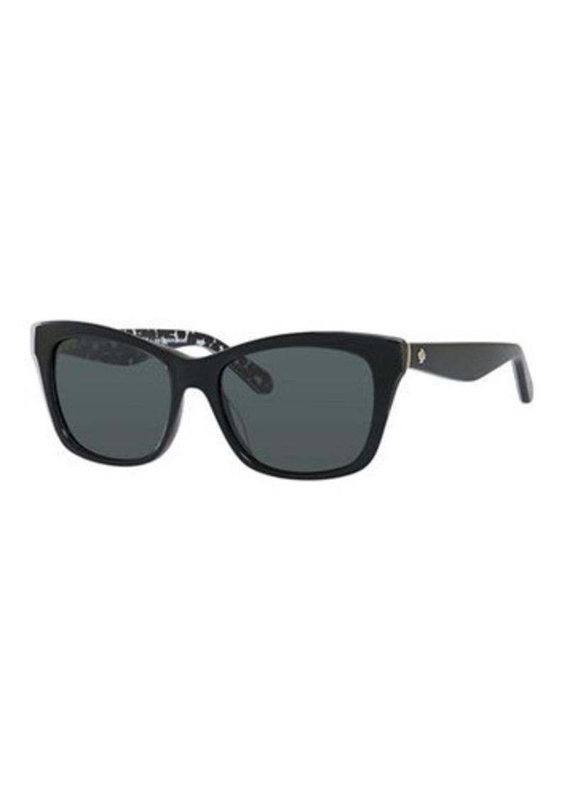 kate spade new york jenae plastic rectangle sunglasses