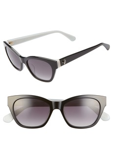 kate spade new york jerris 50mm cat eye sunglasses
