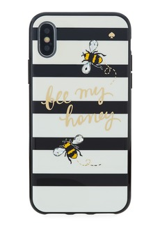 kate spade new york jeweled bee my honey iPhone® X phone case