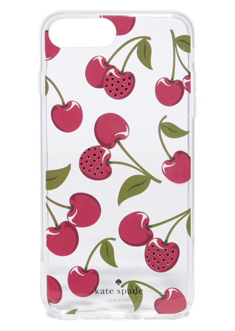 uk availability 5131a fcf58 New York Jeweled Cherries iPhone 7 Plus / 8 Plus Case