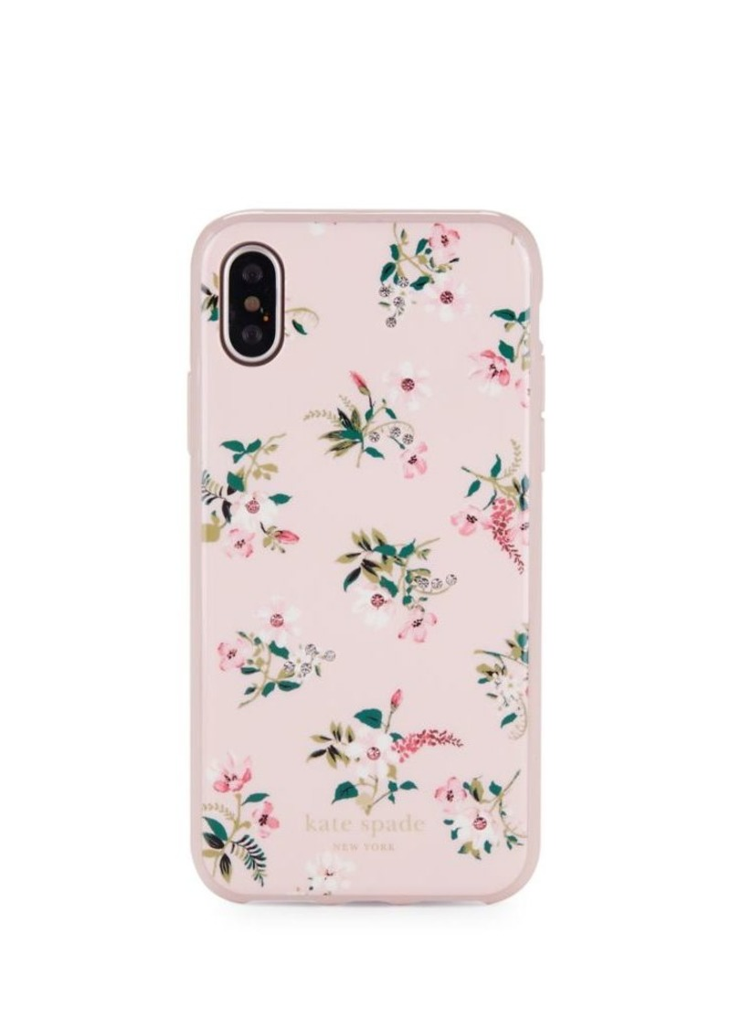 best quality beb5f be0d7 New York Jeweled Floral iPhone X Case