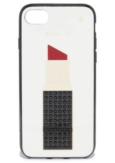 Kate Spade New York Jeweled Lipstick iPhone 7 Case