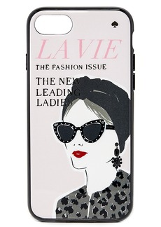 Kate Spade New York Jeweled Magazine iPhone 7 Case