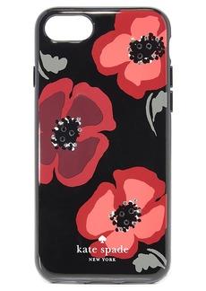 Kate Spade New York Jeweled Poppy iPhone 7 Case