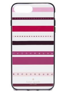 Kate Spade New York Jeweled Stripe iPhone 7 Plus Case
