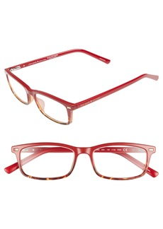 kate spade new york jodie 50mm rectangular reading glasses
