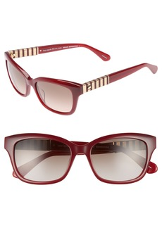 kate spade new york johanna 2 53mm gradient sunglasses