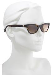 kate spade new york johneta 51mm cat eye sunglasses