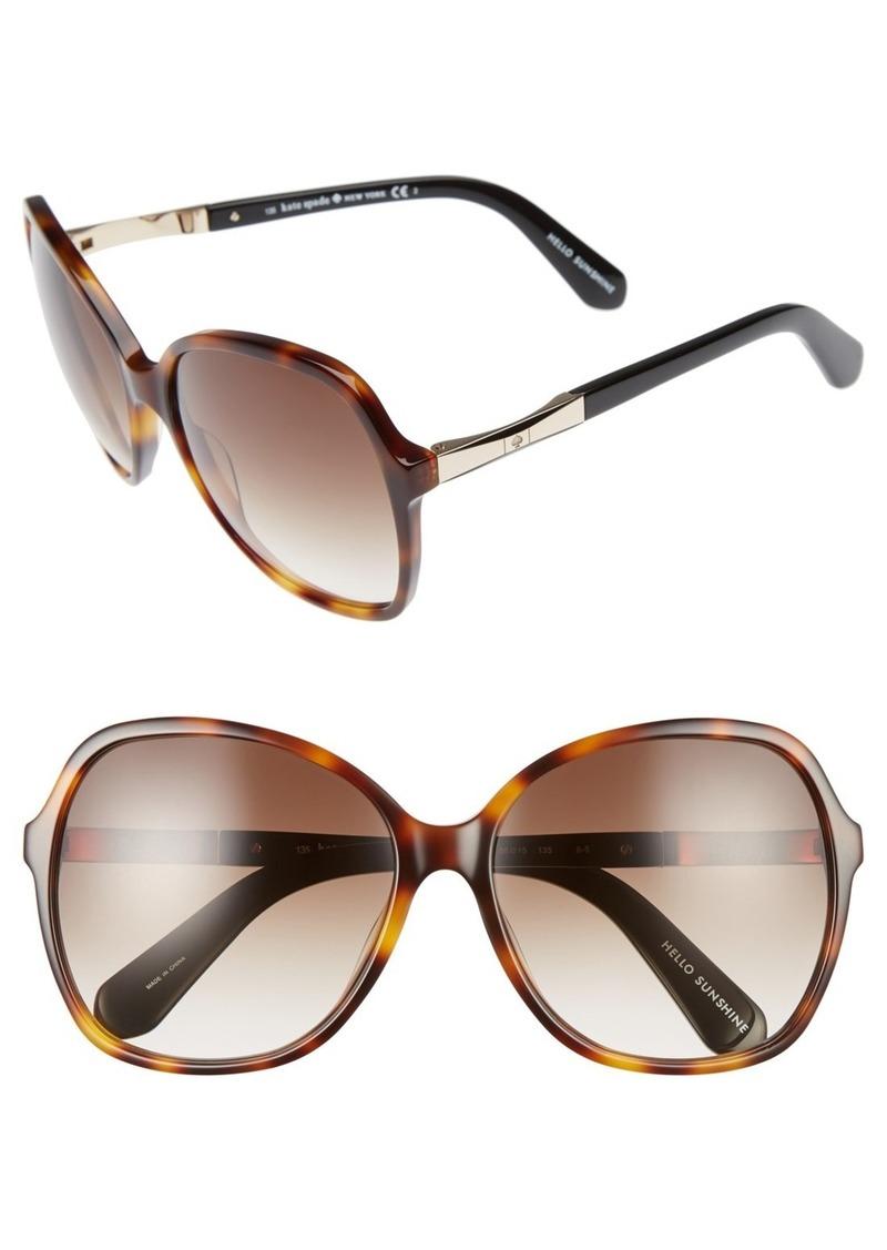 kate spade new york jolyn 58mm sunglasses