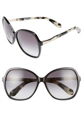 kate spade new york jolyn 58mm sunglasses