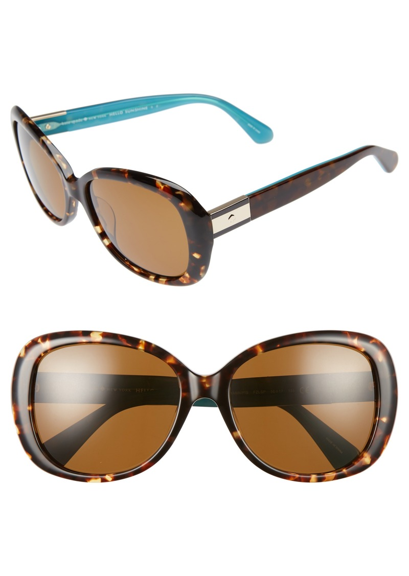 7611a0964bb Kate Spade kate spade new york judyann 56mm polarized sunglasses ...