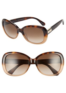 kate spade new york judyann 56mm sunglasses