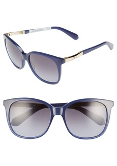 kate spade new york julieanna 54mm polarized sunglasses