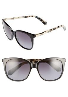 kate spade new york julieanna 54mm polarized sunglasses