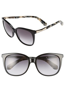 kate spade new york julieanna 54mm sunglasses