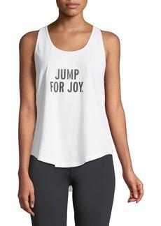 Kate Spade jump for joy performance tank