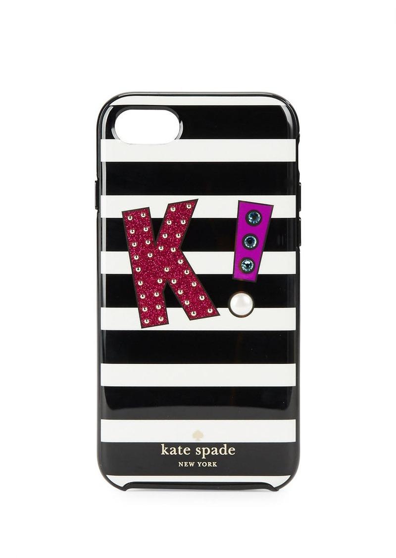 KATE SPADE NEW YORK K Initial iPhone 7 Case
