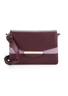 KATE SPADE NEW YORK Kaela Colorblocked Leather Shoulder Bag