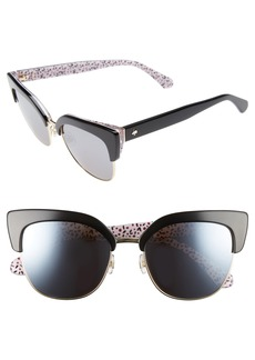 kate spade new york karri 53mm sunglasses