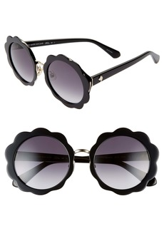 kate spade new york karries 52mm round sunglasses