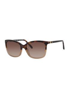 Kate Spade kasie square sunglasses