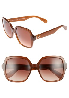 kate spade new york 'katels' 54mm sunglasses