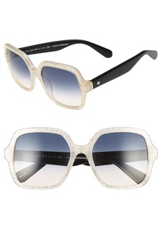 kate spade new york 'katels' 54mm sunglasses