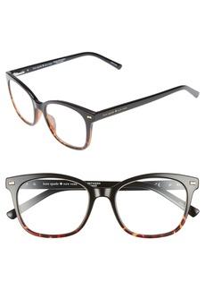 kate spade new york keadra 51mm reading glasses